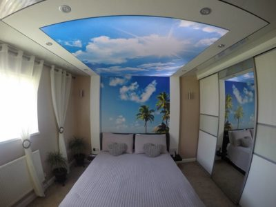 bedroom ceilings