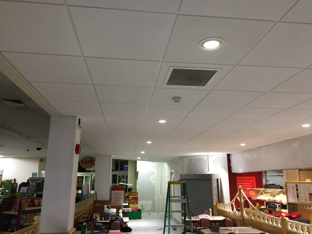 Suspended Ceilings Installation at Morrisons Beccles - VM Interiors