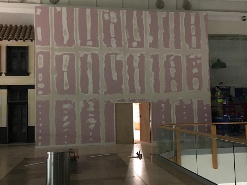 Hoarding Installation