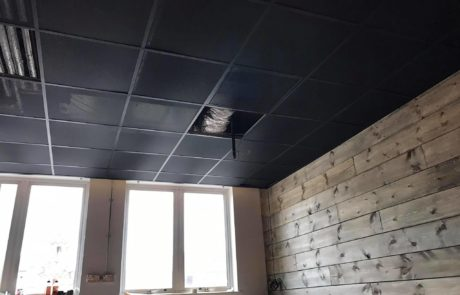 Commercial ceilings design and installation