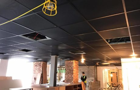 Metal Suspended ceilings Ceilings installation