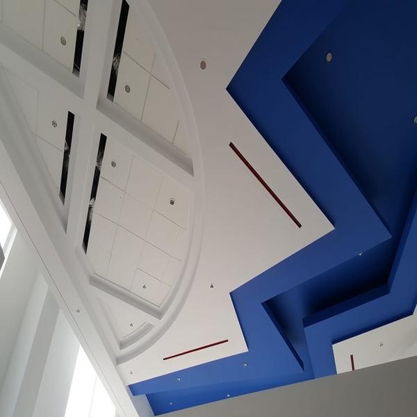 Metro bank Ceiling
